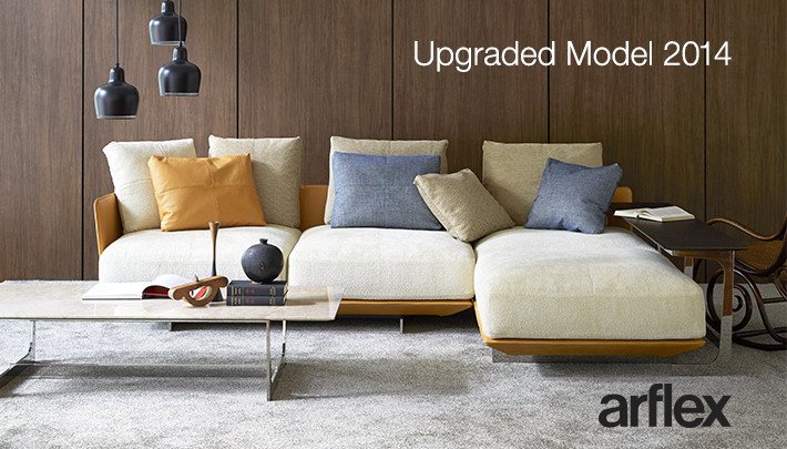 〈arflex〉Upgraded Model 2014